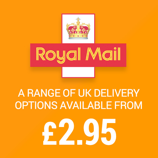UK Delivery from only £2.95